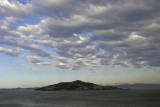 Angel Island winter clouds