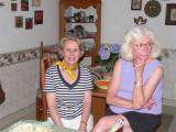 Julie with Ginger  Lee