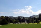 The Wicklow hills from Powerscourt Gardens