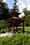 In the shade of a pagoda