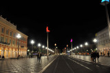 Place Masséna at night