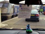 Queuing at the Eurotunnel