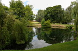 Pond at the National Stud