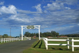 Parker Ranch entrance, Waimea, Big Island