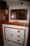 fwd cabin vanity to strbd