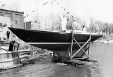 THERMOPYLAE, 1964, C&C, 40' wood custom, built by Bruckmann in Bronte
