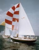THERMOPYLAE racing on Lake Ontario