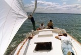 NONSUCH KC 1 , 1978, July, maiden voyage to RCYC