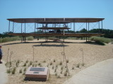 Wright brothers plane memorial