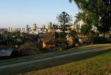 Brisbane City from Highgate Hill