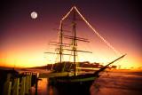 Lahaina Harbor Moonlight