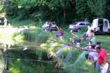 Concours de pêche au Lac des Vergnes