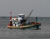 Fishing boat at Ban Phe