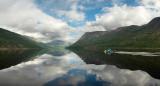 sliding by the mirror of Dyupkun lake