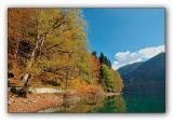 Abkhazia, Ritsa lake, sight from Stalins residence