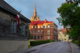 Latvia, the old town of Cesis