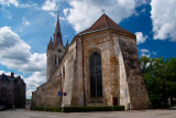 Latvia, the old town of Cesis, St. John's Church