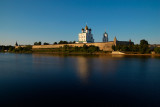 The city of Pskov and Pskov region