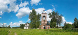 Vladimir region, church in Novy Spas village