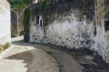Curved lane