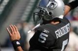 Oakland Raiders QB Brad Gradkowski