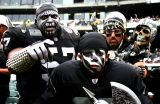 The Violator with other Raiders fans