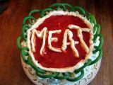 Mmmeat cake