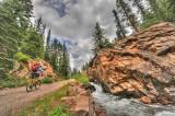7 24 08 Cemnet Creek Cyclist.