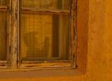 Faint Reflection of Marilyn at Acoma Pueblo