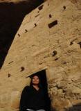 Hopi Woman at Mesa Verde