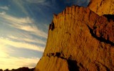Geology on Display at Chaco Canyon, New Mexico