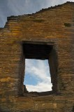Chaco Canyon Window and Wall
