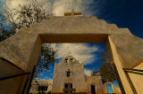 THe Old Church at the Laguna Pueblo