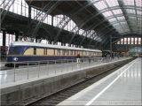 miasto Lipsk, dworzec kolejowy w Lipsku