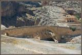 The Roman bridge on the Euphrates river