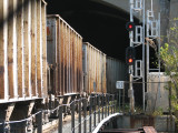 Open freight cars
