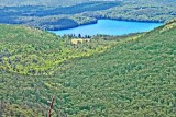 Manning Lake from Belknap Mountain - photo by Dave Roberts
