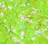 Central Gilmanton Topo Map