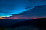 Dawn Looking East from Skyline Drive