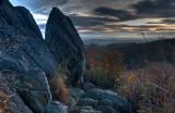 Early AM Landscape in Shenandoah National Park, Virginia