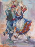 Danzatori calabresi by Stellario Baccellieri