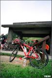 騎很大的單車