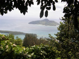 View of Sainte Anne Marine NP