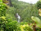 Waterfall near Port Glaud