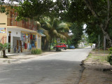 The internet place and local shop - Anse Volbert Village