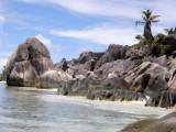 Near Anse Source d'Argent, La Digue Island, SEYCHELLES