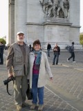 Tourists at the Arc