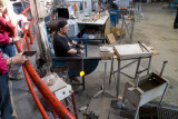 A Glass Blower at Work