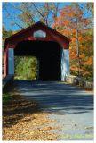 Autumn Road to VanSant Covered Bridge