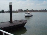 Foot ferry arriving